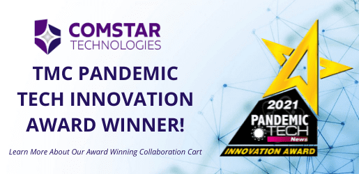 Comstar Technologies Awarded 2021 Pandemic Tech Innovation Award